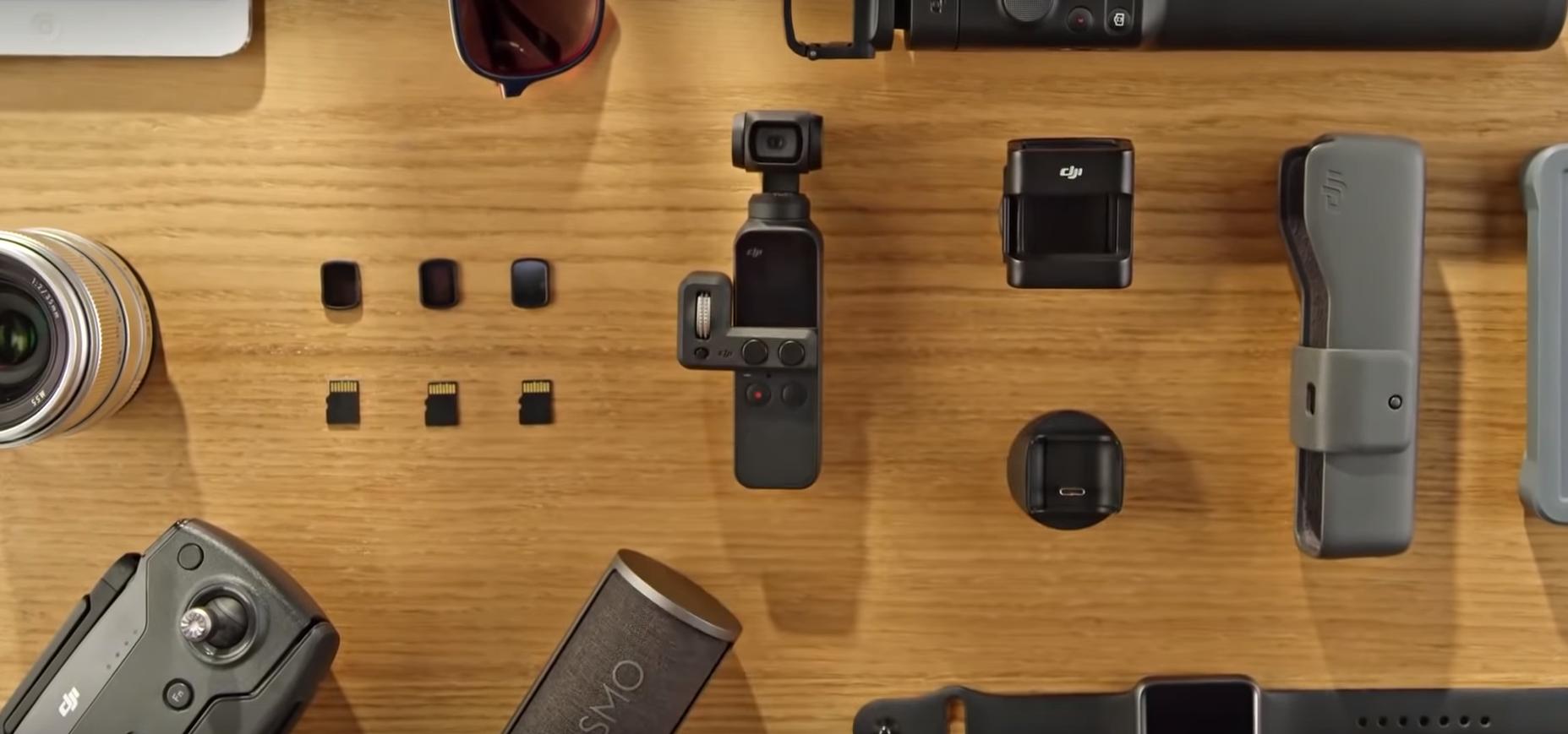Обзор и сравнение DJI Osmo Pocket и Xiaomi FIMI PALM