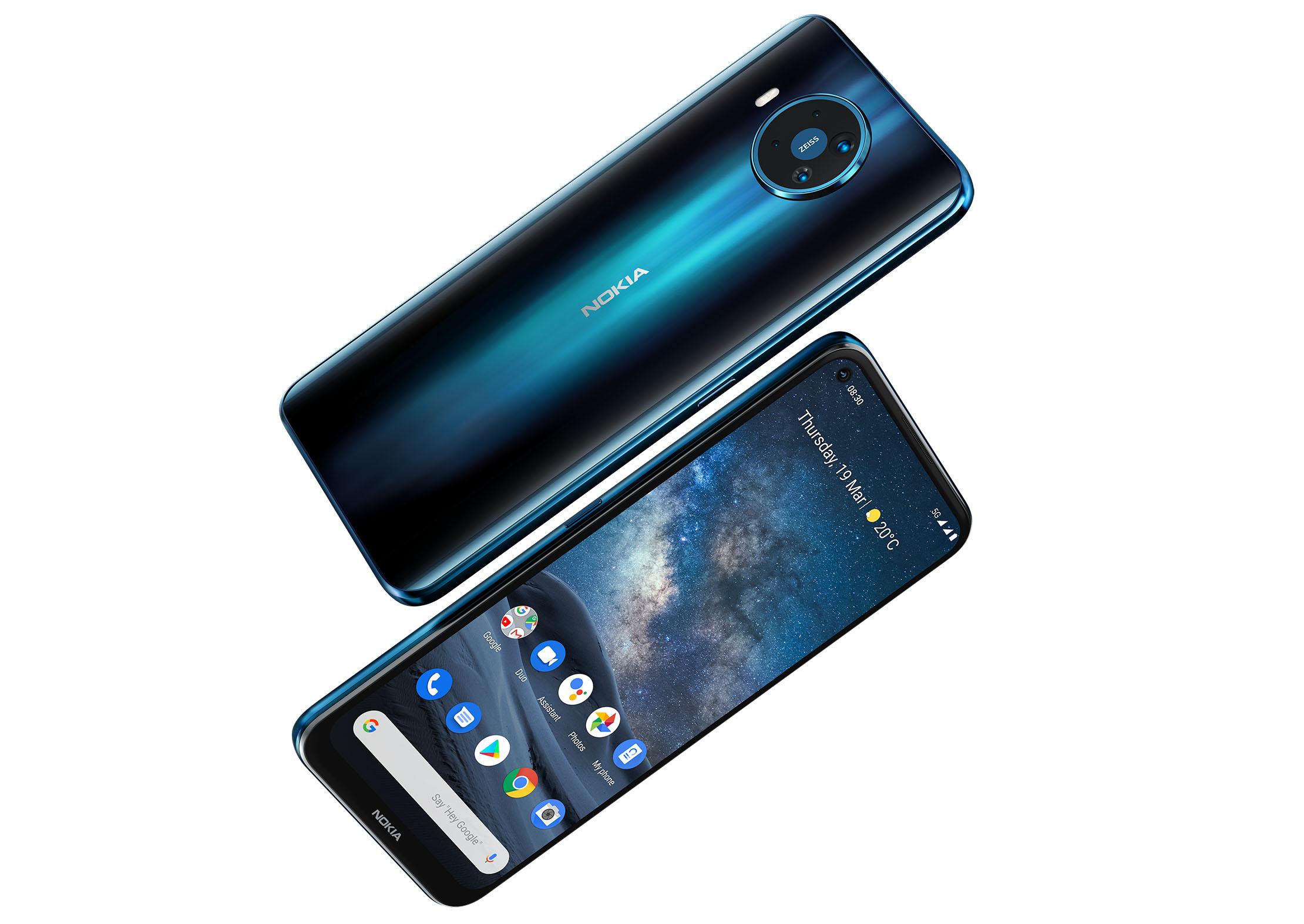 Обзор смартфона Nokia 8.3 с основными характеристиками