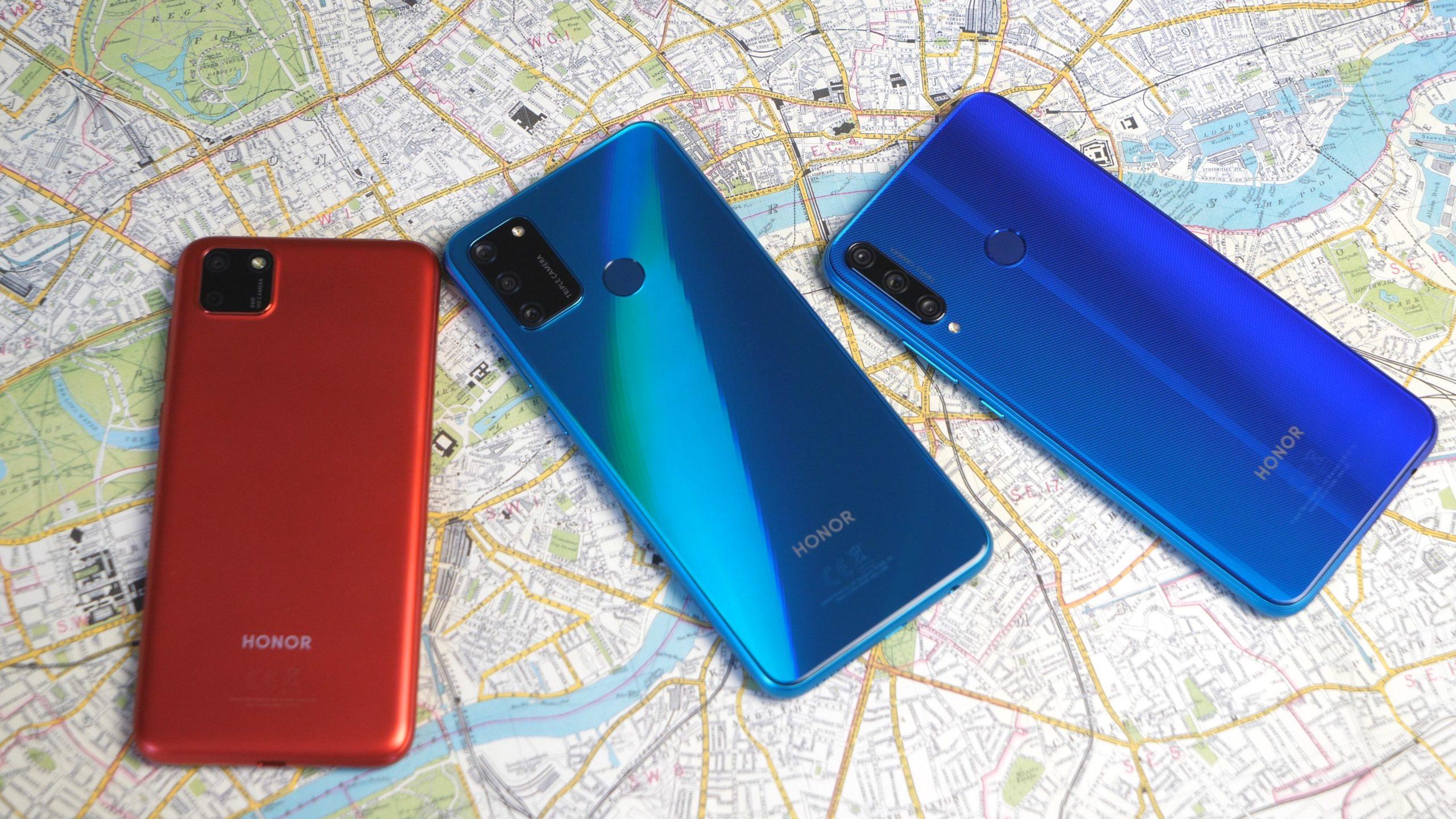 Обзор смартфонов Honor 9A, 9C и 9S
