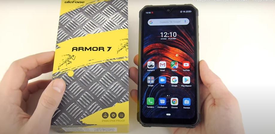 Обзор смартфонов Ulefone Armor 7 и Ulefone Armor 7E