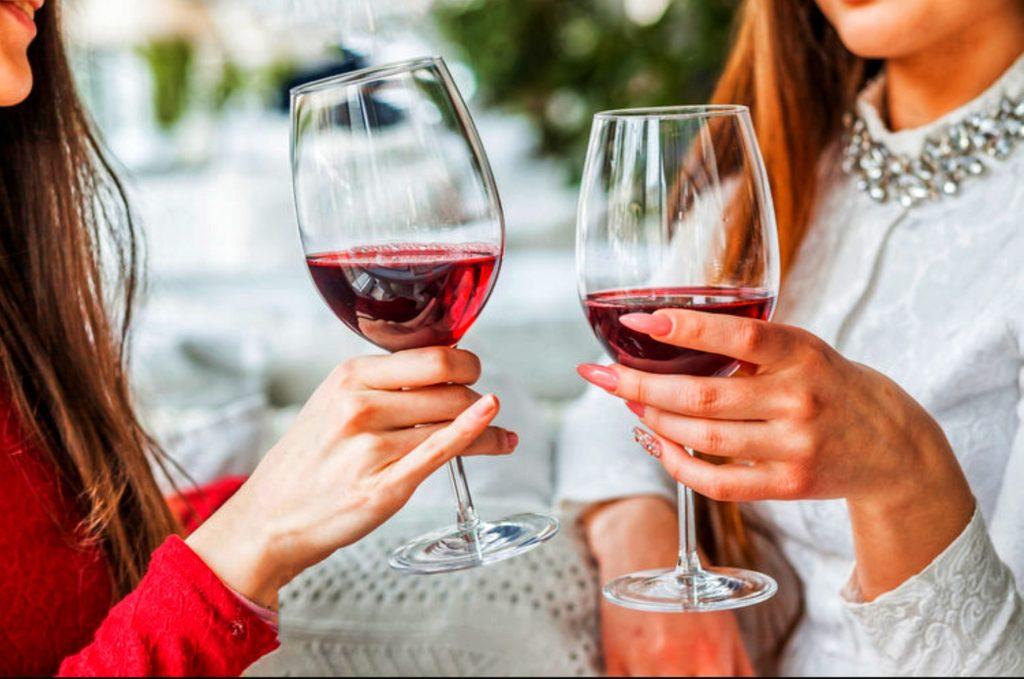Игристое вино розе