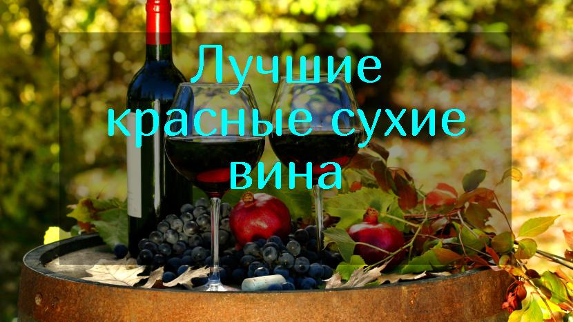 Рейтинг лучших красных сухих вин на 2021 год