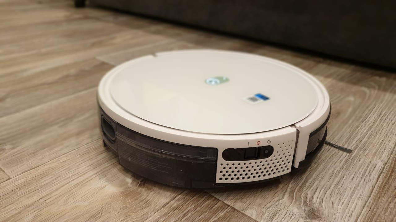 Тест-драйв робота-пылесоса Yeedi K650 в домашних условиях или война с пылью и шерстью